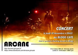 Affiche concert le Blogg